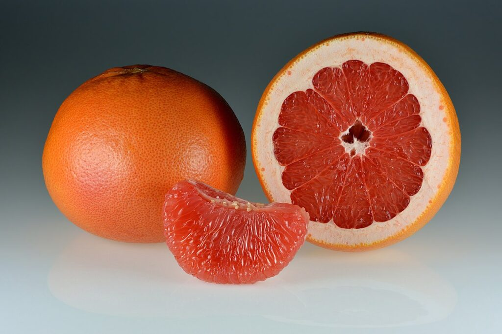Grape fruit- what foods to eat to lose weight