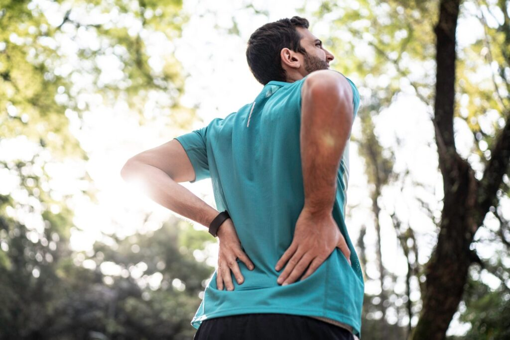Severe lower back pain when walking or standing