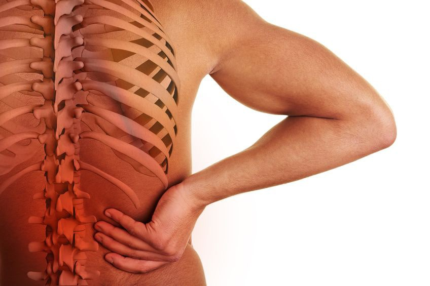 spinal stenosis from lower back pain when lying down flat