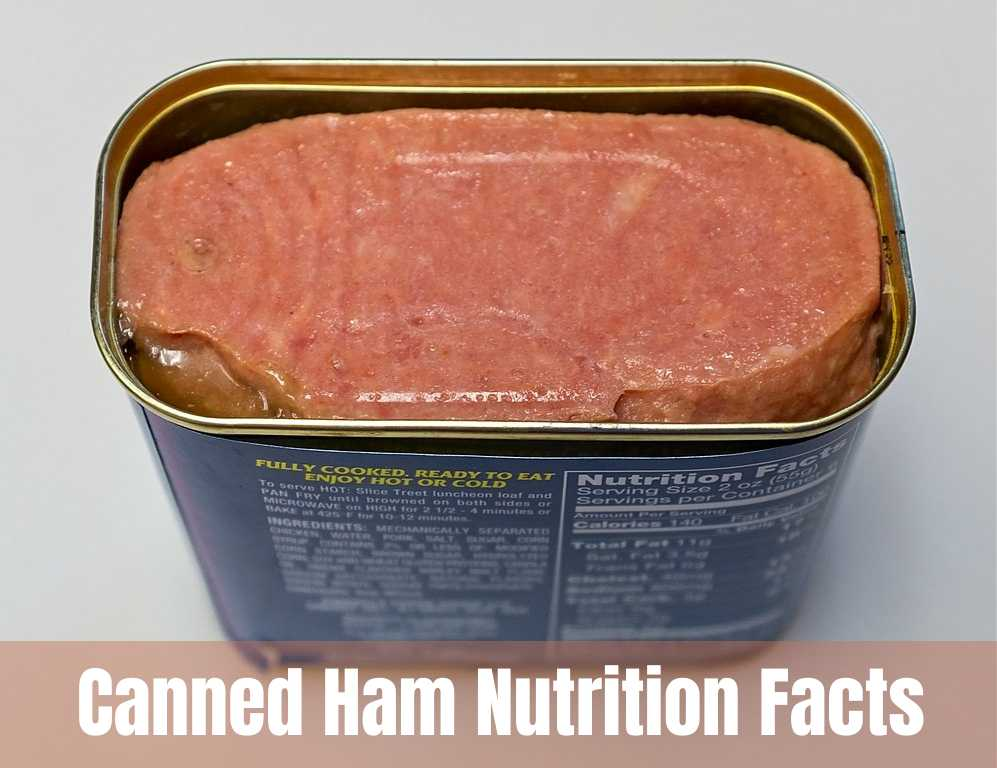 canned ham nutrition facts