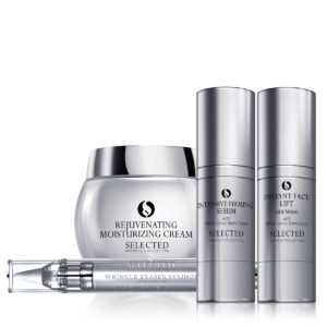 Selected skincare white lotus miracle collection
