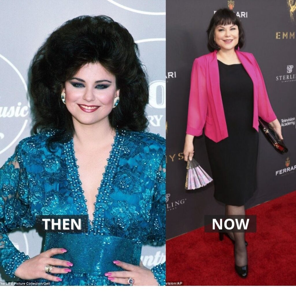 Delta burke then and now