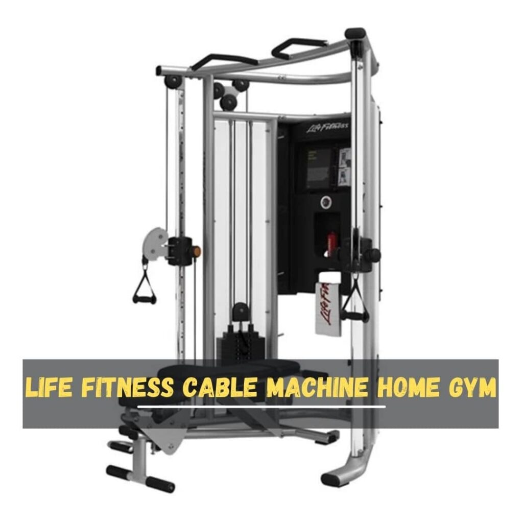 Life Fitness Cable Machine Home Gym
