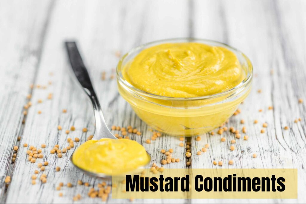 mustard nutritional facts condiments