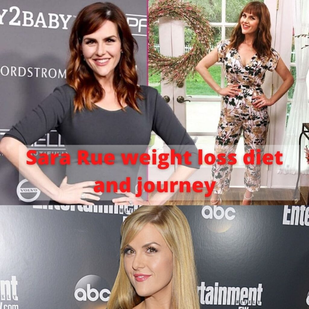 Sara Rue weight loss diet and journey