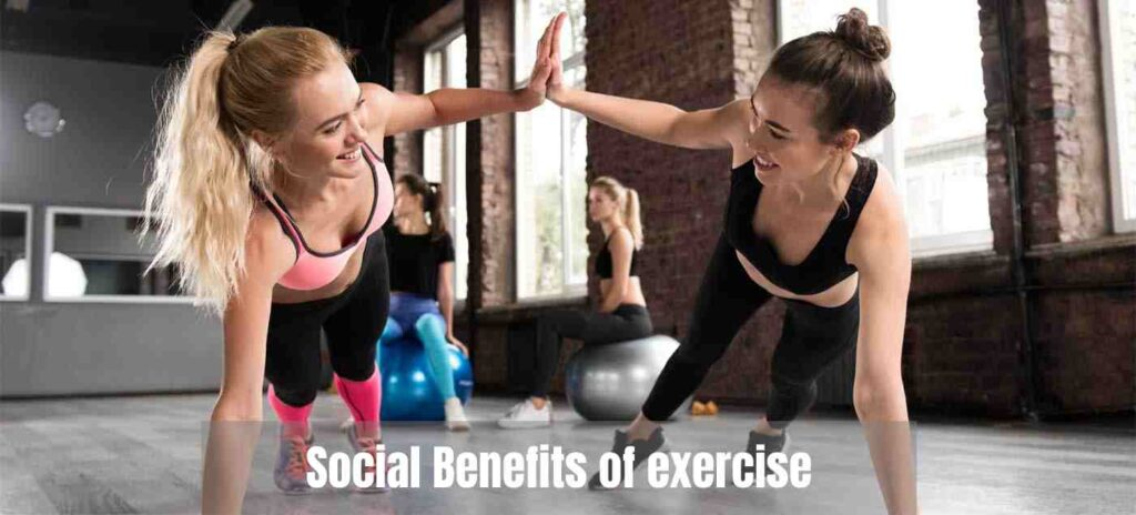 social benefits of exercise