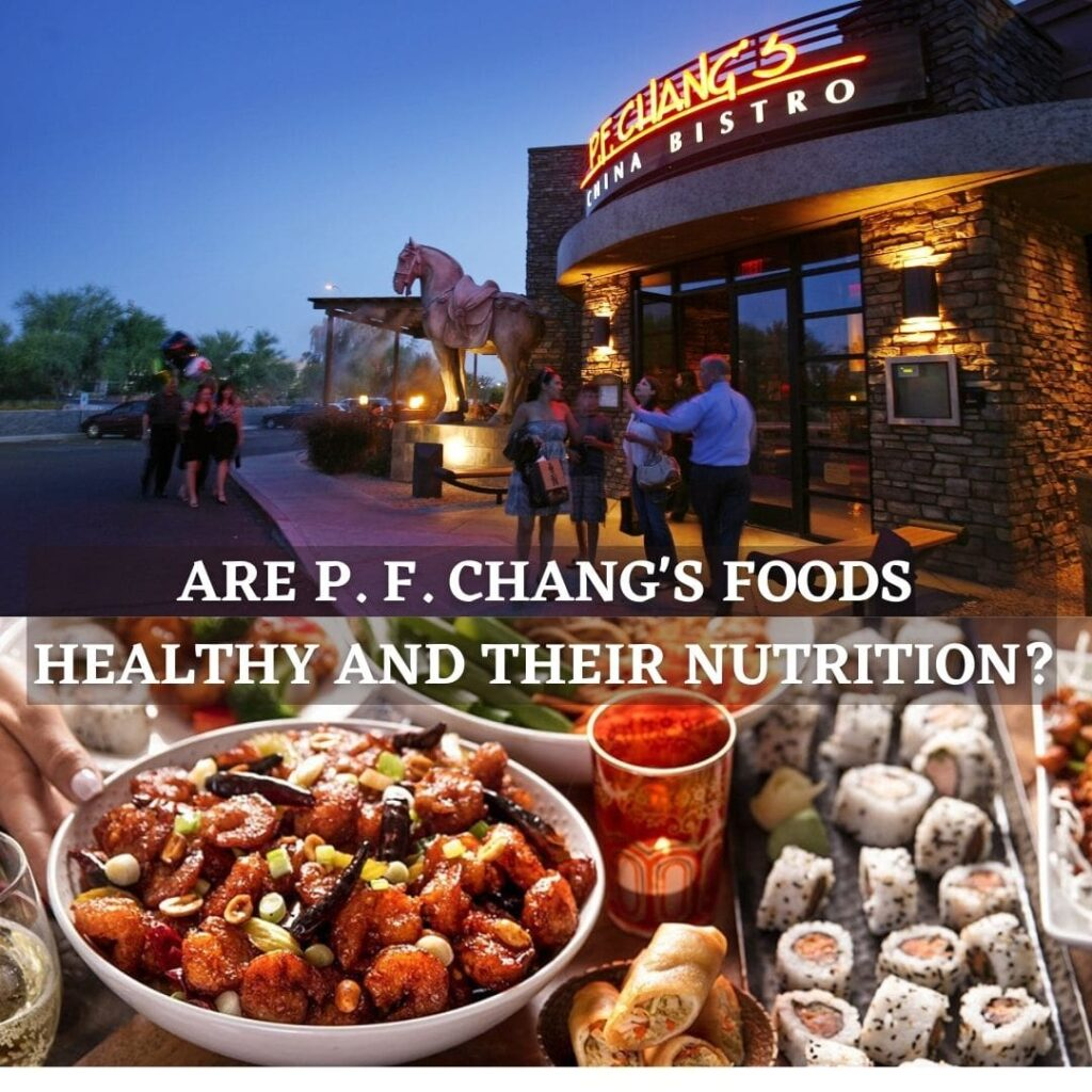 pf chang's nutrition