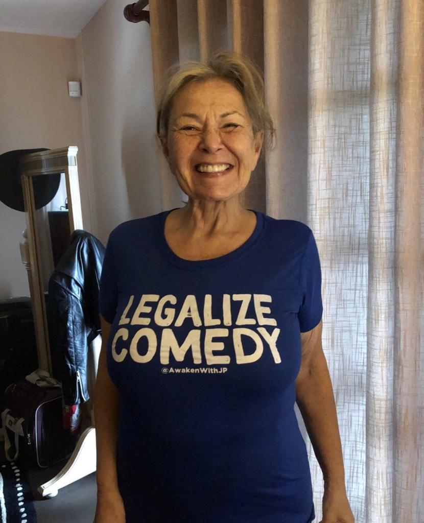 Roseanne Barr today photo