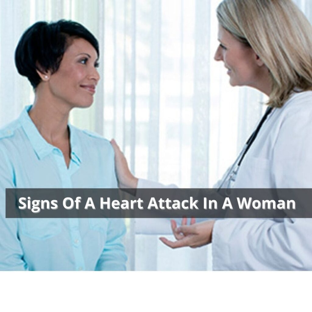 Signs Of A Heart Attack In A Woman