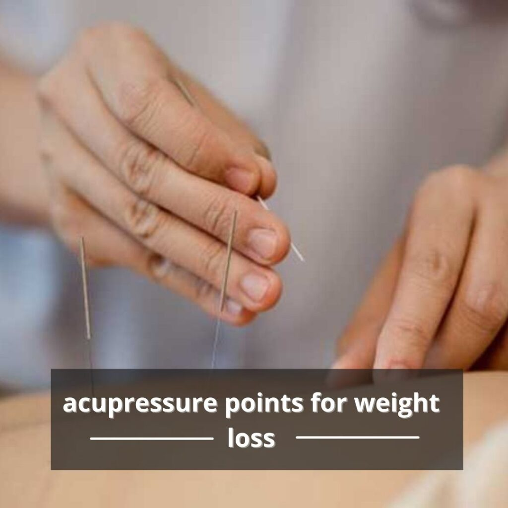 pressure point for weight loss